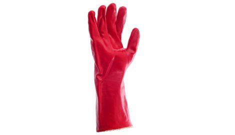 Перчатки Intertool - масло-бензостойкие 35 см х 14
