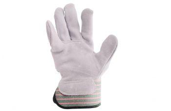 Перчатки Intertool - замшевые комбинированные 27 см х 10,5