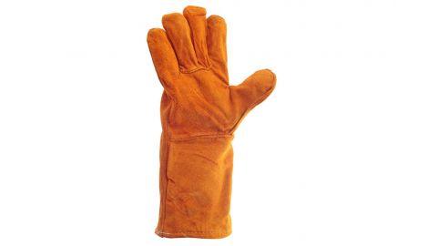 Перчатки Intertool - замшевые краги 35 см х 14