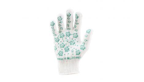 Перчатки PRC - цветок зеленый 9