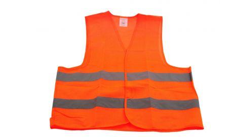 Жилет светоотражающий (оранжевый) Vita, 008002