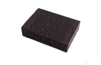 Губка шлифовальная Intertool - 100 х 70 х 25 мм, P60
