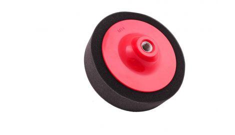 Круг полировальный поролоновый Pilim - 150 мм, чёрный, 026232
