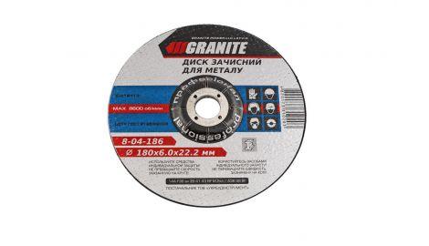 Круг зачистной Granite - 180 х 6,0 х 22,2 мм, 030293