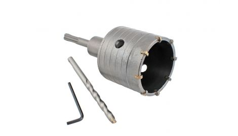 Сверло корончатое по бетону SDS+ Intertool - 65 мм, 065109