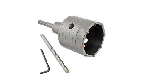 Сверло корончатое по бетону SDS+ Intertool - 80 мм, 065112
