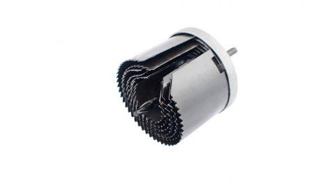 Набор корончатых сверл по гипсокартону Intertool - 7 шт. (26-63 х 43 мм) удлиненные, 059152