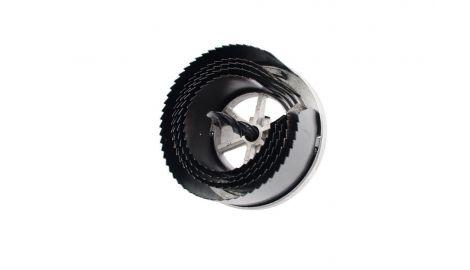 Набор корончатых сверл по гипсокартону Intertool - 5 шт. (60-95 х 20 мм), 059153