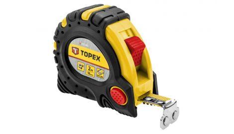 Рулетка Topex - 2 м х 16 мм, супер-магнит, 080621