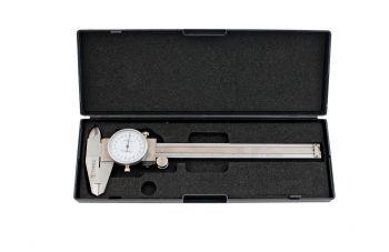 Штангенциркуль Topex - 150 мм аналоговый, цена деления 0,02 мм
