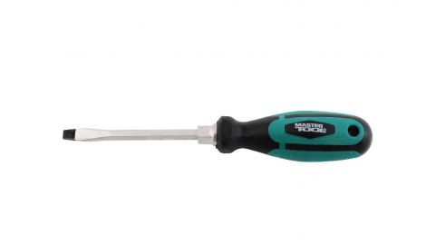 Отвертка Mastertool - шлицевая SL3 х 75 мм, Prof, 092241
