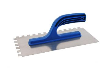 Гладилка DV - 280 х 130 мм, зуб 10 х 10 мм