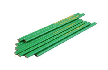 Карандаш Intertool - по камню 240 мм (12 шт.) зеленый
