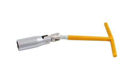 Ключ свечной Т-образный с шарниром Intertool - 16 мм, 135151