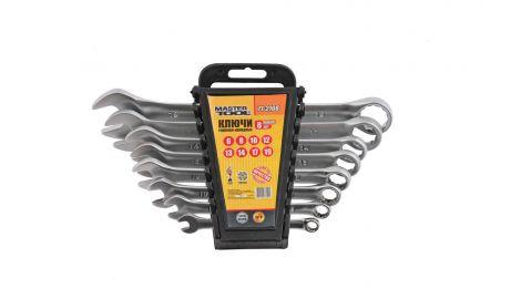 Набор рожково-накидных ключей Mastertool - 12 шт. (6-22 мм), 138223