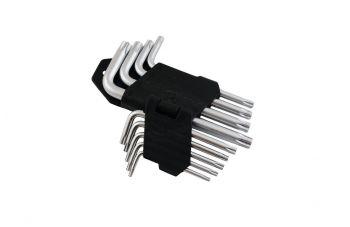Набор Torx ключей Miol - 9 шт.