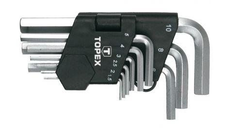 Набор шестигранных ключей Topex - 9 шт., 138642