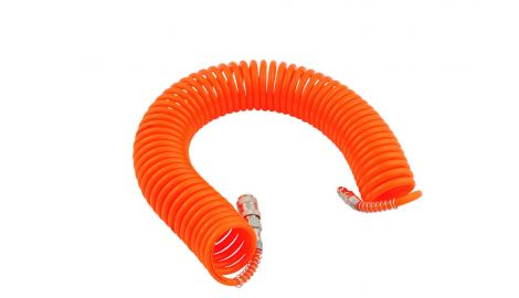 Шланг спиральный Intertool - 20 м, пластиковый, 164104
