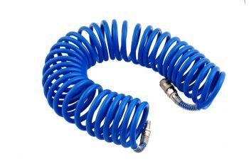Шланг спиральный Intertool - 10 м, 6,5 х 10 мм, полиуретановый