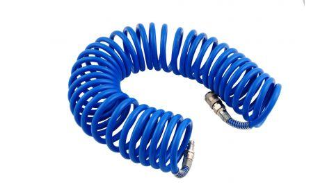 Шланг спиральный Intertool - 10 м, 6,5 х 10 мм, полиуретановый, 164122
