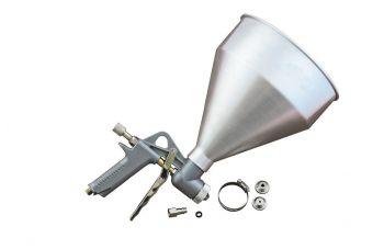 Пневмопистолет для нанесения цемента Miol - 5000 мл, d=4,5 6, 8 мм