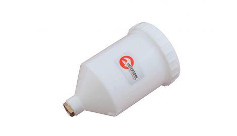 Бачок для пневмопистолета Intertool - 600 мл, внутренняя резьба, 169153