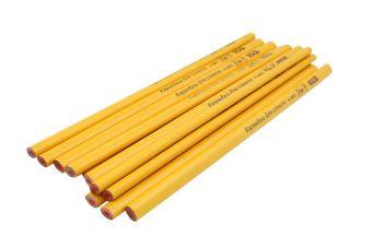Карандаш Mastertool - по стеклу 250 мм (12 шт.) желтый