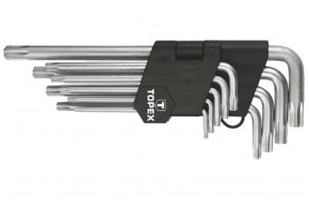 Набор Torx ключей Housetools - 9 шт. удлиненные