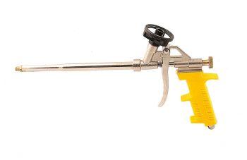 Пистолет для пены Mastertool - 330 мм тефлон держатель баллона, игла