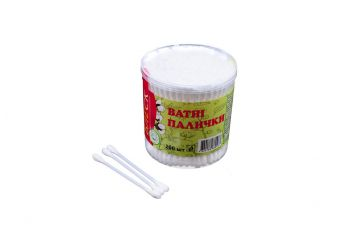 Ватные палочки Блеск - пластиковые (200 шт.)
