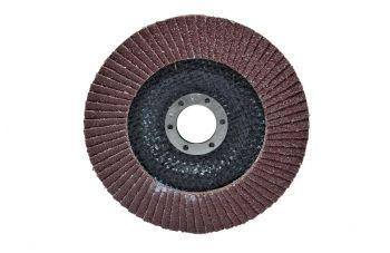 Круг лепестковый торцевой Housetools - 125 мм x Р100, изогнутый