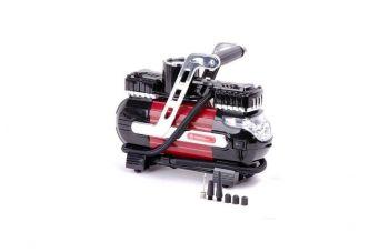 Миникомпрессор автомобильный Intertool - 12В x 7 bar x 40 л/мин, двухпоршневой