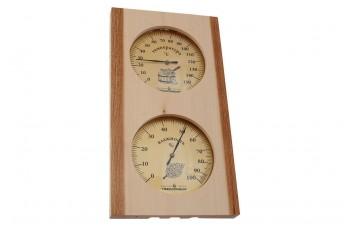 Термогигрометр для сауны Стеклоприбор - (0/+150°C x 0-100%) ТГС-5