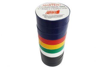Изолента Master - 21 м x 17 x 0,13 мм, ассотри