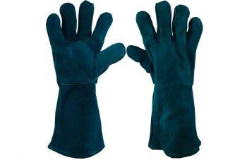 Перчатки PRC - замшевые краги 36см x 14