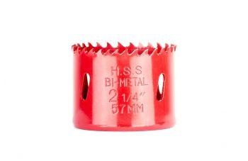Сверло корончатое биметаллическое Intertool - 57 мм x 7/16