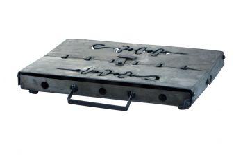 Мангал-чемодан DV - 12 шп. x 1,5 мм (горячекатаный)