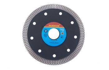 Диск алмазный Aceca - 125 x 22,2 мм турбо черный