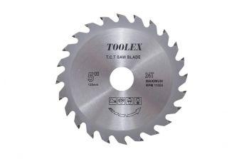 Диск пильный Aceca - 125 x 22,2 мм x 24T