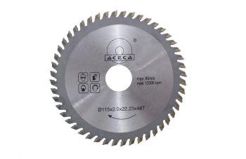 Диск пильный Aceca - 115 x 22,2 мм x 48T